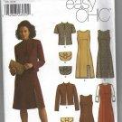 Simplicity 5451 Women's Dress,Lined Jacket, Purse NEW Size 12-20 .
