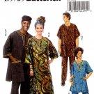 Butterick  5725 Tunic, Caftan Pants, Hat and Head -Wrap Men's Women's XL-XXXL