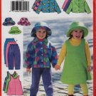 Butterick 5717 Girls Wardrobe Hat, Jacket, Pants, Skirt, and Jumper Size 2-3-4-5 UNCUT