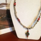 Hemp Necklace w/Handcrafted Pendant