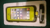 Waterproof Case for iPhone 5/5s Lime Green