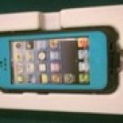 TEAL Apple Iphone 5/5s Waterproof/Shock Proof Case