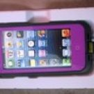 Purple Apple Iphone 5/5s Waterproof/Shock Proof Case
