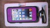 Purple Apple Iphone 5/5s Waterproof/Shock Proof Case