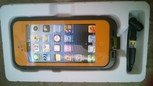 Orange Apple Iphone 5/5s Waterproof/Shock Proof Case
