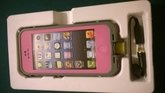 Pink Apple Iphone 5/5s Waterproof/Shock Proof Case