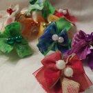 10 pair handmade Bows
