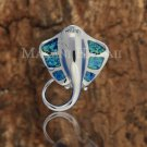 SOP1079 6 Opal Stingray Pendant