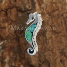 SOP1080 2 Opal Seahorse Pendant