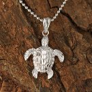 GP3157 White Gold Turtle Pendant(S) (Chain Sold Separately)