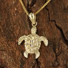 GP3158 Yellow Gold Turtle Pendant(S) (Chain Sold Separately)