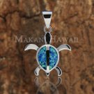 SOP1017 Honu Opal Pendant(L)(Chain Sold Separately)
