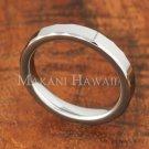 3mm Tungsten Ring High Polish Diamond Cut Edge TUR5012