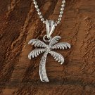 GP3107 White Gold Palm Tree Pendant(S)