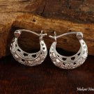 Plumeria See Through Hook Earrings SE41901