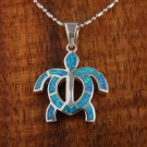 SOP1016 12 Opal Honu Pendant (Chain Sold Separately)