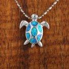 SOP1070 7 Opal Turtle Pendant(S)
