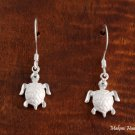 SE25501 Turtle Hook Earrings(M) White