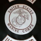 US Marines Semper Fi Patches Rockers & Center Back Patch set Marine Corps New
