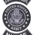 US ARMY PATCHES SET COMBAT MEDIC NURSE BACK PATCHES FOR VEST JACKET