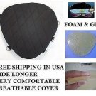 Motorcycle driver seat gel pad cushion for suzuki intruder