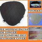 Driver impact gel pad seat harley fat bob models soft