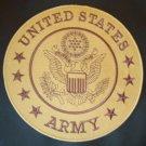 US ARMY LARGE BACK PATCH COMBAT COLORS FOR  BIKER MOTORCYCLE VEST JACKET