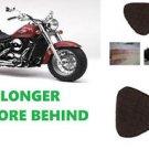 Motorcycle Gel Pad for Yamaha V-Star 950 Models Driver Seat Memory Foam & Gel