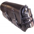 Motorcycle SOLO Saddlebag for Harley Davidson XL883R Sportster 883R