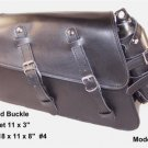 Motorcycle Leather SOLO Saddlebag for Harley Davidson XL1200X Forty-Eight 48
