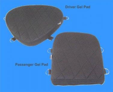 Driver & Passenger Seat Gel Pad Set for Yamaha V-Star 650 Models