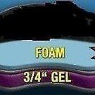 Motorcycle Driver Seat Gel Pad Cushion for Honda Interceptor VFR800 & VFR1200