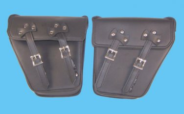 Motorcycle solo bag left or right side bag for harley