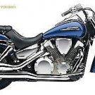 Motorcycle brackets pair honda VTX 1300 support pair