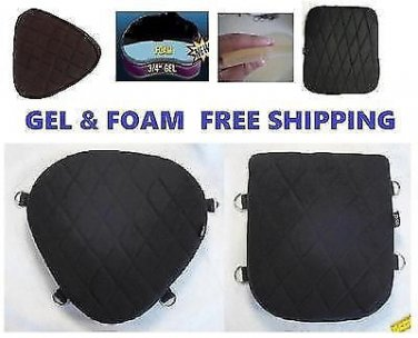 Seats gel pads set honda VT 1100C3 shadow aero models