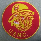 USMC Bulldog 10 and center patch