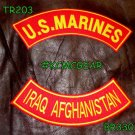 U.S. Marines Iraq Afghanistan Embroidered Military Patch Set Sew on Patches for