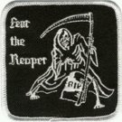 Fear the Reaper Deatch Angel  Patch Biker Motorcycle Jacket Vest Shirt 4 inch
