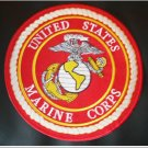 RED US MARINES CORPS PATCH ROCKER MARINES SEMPRE FI PATCHES FOR VEST JACKET NEW
