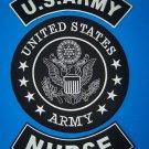 US ARMY NURSE 3 PATCH SET LARGE PATCHES FOR VEST JACKET FOR VETERANS PATRIOT