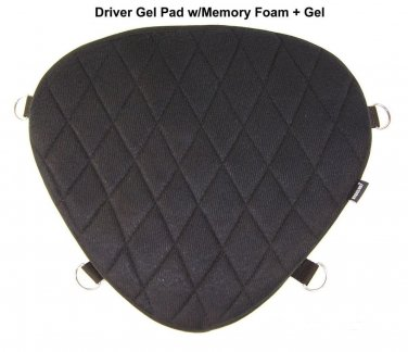 Motorcycle Driver Gel Pad for 2010 Indian Chief Dark Horse
