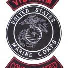 US MARINES PATCHES 3 PC SET VIETNAM COMBAT WOUNDED ROCKERS FOR VEST JACKET
