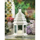 ON SALE!! White Moroccan Style Lantern