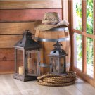 (SET OF 2) SMALL MONTICELLO CANDLE LANTERN