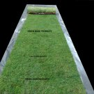 Free Shipping 3'X20' real moss runner preserved green fairy rustic garden church decor