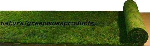 "16""X20' Sheet Moss Runner table wedding arch aisle decorations ceremony sheet"