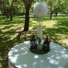 "10- 14"" round moss charger for rustic wedding centerpiece ideas moss decor woodsey table rustic"