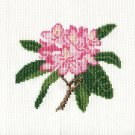 RHODODENDRON Finished Completed Stitchery Hand Made