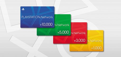 Playstation Network Ticket for only Japan Store  Ten Thousand yen