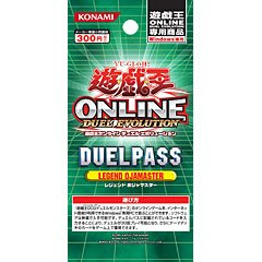 JAPAN new! 10x Yu-Gi-Oh! ONLINE DUELPASS  LEGEND OJAMASTER